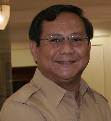 Prabowo Subianto Profile